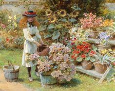 William Stephen Coleman (1829-1904) English Academic Classical artist