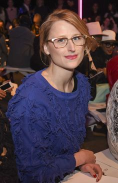 Actress Mamie Gummer attends the Milly By Michelle Smith show during Mercedes-Benz Fashion Week Fall 2015 at ArtBeam on February 16, 2015 in New York City.