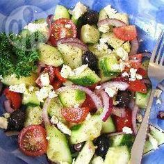 Foto de la receta: Ensalada griega auténtica