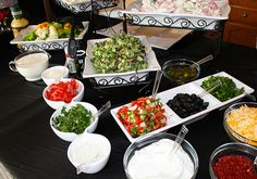 Make Your Own Nachos Bar at a James Bond Party #jamesbond #diynachos
