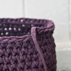 For this pattern You Need: *1 ball of Yarn, (I use Ribbon XL, You can buy it here) or inMy Etsy Shop. It isperfect for these baskets! But You can also use Zpagetti Yarn which You can buyin My Et…