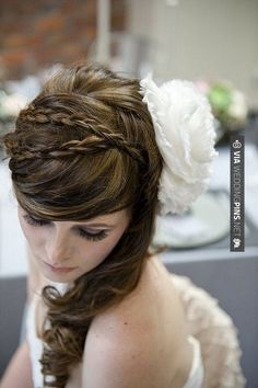 Fantastic! - wedding hairstyle | CHECK OUT MORE IDEAS AT WEDDINGPINS.NET | #weddings #hair #weddinghair #weddinghairstyles #hairstyles #events #forweddings #iloveweddings #romance #beauty #planners #fashion #weddingphotos #weddingpictures