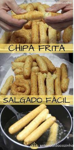Receita de Chipa Frita, se você não conhece, Chipa é um salgado delicioso, bem gostoso! Aprenda agora! #receita #salgado #lanche #culinaria #comida #gastronomia #manualdacozinha #aguanaboca