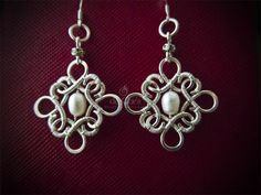de Cor's Handmade Jewelry: Malaysia Handmade Jewelry Commissioned Celtic Enchant Earrings http://jewelry.de-cors.com/2013/05/malaysia-handmade-jewelry-commissioned-silver-celtic-enchant-earrings.html
