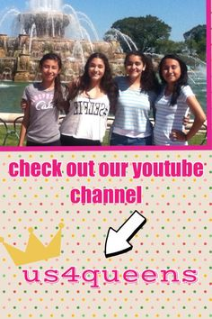 please check out our channel!! we do a lot of challenges, daily blogs, and diys!! and many more to come:) please subscribe, like and share!!!:)