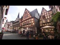 Deutsch lernen mit Videos. Ruinen aus dem Mittelalter neben dem Rhein = Ruins from the middle Ages next to the Rhine. Listen for which centuries (= Jahrhundert) they date from.