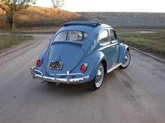 1963 VW Bug Ragtop restored to perfection by West Coast Restoration