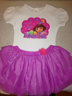 Dora the explorer birthday party outfit | Life With My Mini - Lifestyle Blog. #dorabirthday