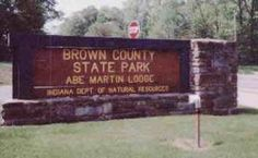 Brown County State Park! Beautiful drive through southern Indiana!