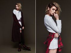 Gillian Mahin and Laura Hall have launchedtheir debut collection of knitwearfor fall.