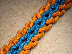 This pattern looks like a noble chain to me and it was created while watching one of my favourite tv-shows. So I'll call it ' The Valyrian...