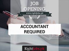 #Accountant Required Location: #Islamabad Job Requirements Qualification: Bachelors Degree Experience: 3 Years   #JobsinIslamabad Interested candidates please follow the link for more details. http://rightjobs.pk/vacancies/view/-accountant-25000--773