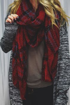 Plaid Blanket Scarf | UOIonline.com: Women's Clothing Boutique