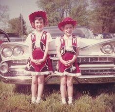 1960 pretend cowgirls!