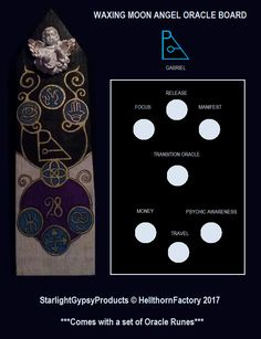 Oracle Boards for intuitive readings. This is the concept model there will be larger sizes available at a later date. All rights reserved. Find me on Facebook @HellthornFactory