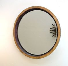 Hey, I found this really awesome Etsy listing at https://www.etsy.com/listing/202067023/mirror-adonia-wine-barrel-mirror-100