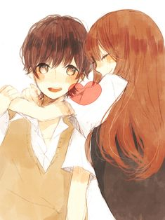 anime best friends boy and girl tumblr - Google Search
