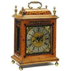 Bracket clock Date: ca. 1695 Place: London Artist/maker: Martin, John
