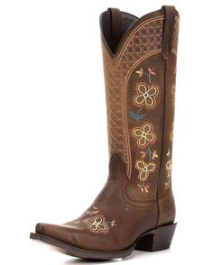 Ariat Women's Sundance Boot - Weathered Brown