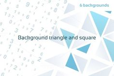 Check out Background triangle and square by Aleksandr-Mansurov.ru on Creative Market
