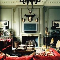 The new aristocracy living rooms