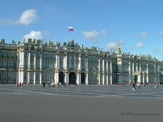 Front of the Hermitage.
