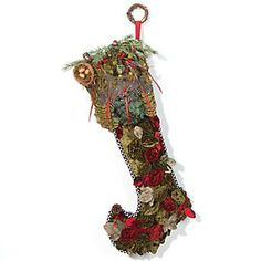 Embroidered Christmas Stockings | Embroidered christmas stockings ...