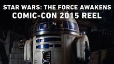 Star Wars: The Force Awakens - Comic-Con 2015 Reel. That incredible moment when you're geeking out because (a) Star Wars VII, (b) you live for behind the scenes footage, and (c) COMIC CON BEHIND THE SCENES STAR WARS VII FOOTAGE RELEASED TO COMMON FOLK someone please help me I'm seriously overwhelmed by excitement and overall geekiness
