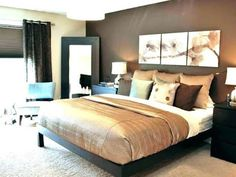 Fine Deco Chambre Marron that you must know, You?re in good company if you?re looking for Deco Chambre Marron Romantic Bedroom Colors, Warm Bedroom Colors, Romantic Master Bedroom, Small Master Bedroom, Bedroom Color Schemes, Modern Bedroom, Colour Schemes, Master Bedrooms, Romantic Bedrooms