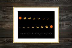 Moon Phase, Moon Print, Moon Phases Wall Art, Moon Quotes, Moon Poster, Wall Art Moon, Lunar Phases Print, Modern Large Print, Astronomy Print The image is available to print in digital format directly! The maximum size I recommend is 50cm x 70cm.  If you need more information about the product or have any questions, do not hesitate to contact me
