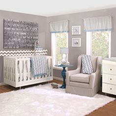 Petit Nest Henri 4 Piece Crib Bedding Set & Reviews | Wayfair