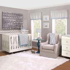 Petit Nest Henri 4 Piece Crib Bedding Set & Reviews | Wayfair