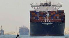 BLOG DO RADIALISTA EDIZIO LIMA: O novo Canal de Suez: a obra faraônica que o Egito fez em um ano