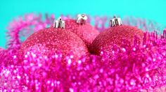 Pink Christmas Decorations Tree Baubles Background Holiday 2014 Color Google Images Entertaining Backgrounds