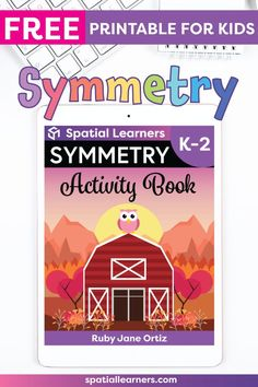 These FREE printable worksheets for kids are great for practicing spatial concepts! These symmetry worksheets can be used as homework, bell-ringer activity, or warm-up activity. Fun things to do with your kindergarten or grade 1 students! Social Studies Resources, Reading Resources, Teacher Resources, Science Resources, Teaching Ideas, Symmetry Worksheets, Symmetry Activities, Writing Activities, Free Printable Worksheets
