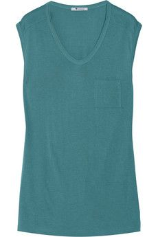T by Alexander Wang Classic jersey T-shirt | THE OUTNET