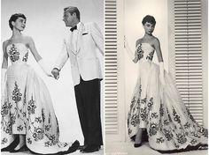 """O vestido de baile de Givenchy, em """"Sabrina"""", ficou eternizado."""