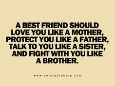 I think they mean talk to you like a brother and fight with you like a sister because bitches be crazy!!! lol