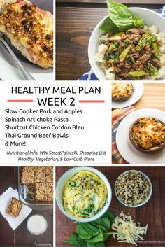 Healthy Meal Plans Week 2: Sticking With It (30% Off Until Sunday!) - Slender Kitchen