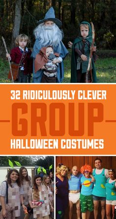 32 Ridiculously Clever Group Halloween Costumes… squad goals Source by yhprump Related posts: 35 Cutest, Craziest & Coolest Group Halloween Costumes for your Girl Squad … Halloween Tags, Office Halloween Themes, Work Group Halloween Costumes, Halloween Kostüm Baby, Homemade Halloween Costumes, Theme Halloween, Zombie Costumes, Halloween Couples, Diy Costumes