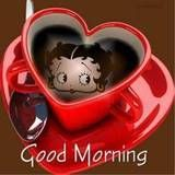 Betty Boop Good Morning Photo:  This Photo was uploaded by kpilkerton. Find other Betty Boop Good Morning pictures and photos or upload your own with Pho...