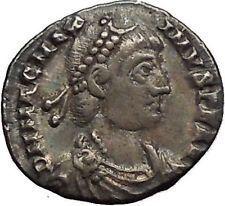 MAGNUS MAXIMUS 383AD Silver Siliqua Authentic Ancient Roman Coin Roma i53403 https://trustedmedievalcoins.wordpress.com/2016/01/24/magnus-maximus-383ad-silver-siliqua-authentic-ancient-roman-coin-roma-i53403/