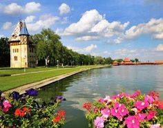 Palic Lake in Serbia with beaches bars and restaurants