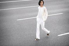 Zara lookbook - Costume slår et slag for hvidt på hvidt