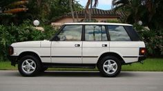 1995 LAND ROVER RANGE ROVER COUNTRY CLASSIC HARD TOP SPORT UTILITY VEHICLE 4X4, image 1