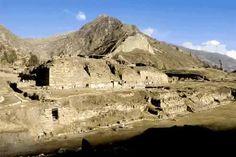 Chavin de huantar Peru Main temple building