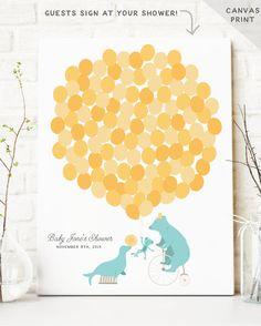 Circus Baby Shower Guest Book Alternative  by MissDesignBerryInc