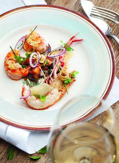 Receita do masterChef Jacquin: lagostim com vinagrete de tomate