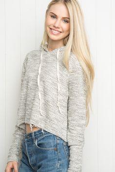 Brandy ♥ Melville   Sasha Hoodie - Hoodies - Sweaters - Clothing