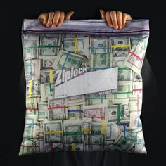 Steelplant Cash in Ziplock Pillowcase  Let everyone in the office know who theyre dealing with by showing them your giant bag of cash in the form of the Cash Stash Ziplock Pillowcase. Not only will it bring you great fame in everyones eyes but it willalso comfort your aching back with its soft cash printed body. This pillow is 1719 inches features a zipper on top (it opens and closes like a zip lock) and has a hidden stash pocket inside where you can put your real baller money.  $29.99…